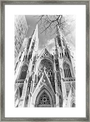 Gothic Glow Framed Print