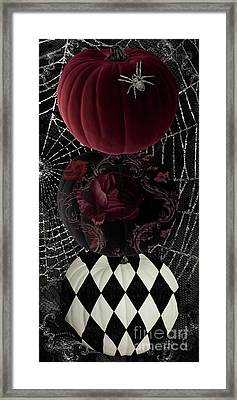 Gothic Halloween Framed Print by Mindy Sommers