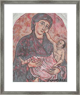 Framed Print featuring the painting Gothic I by Janelle Dey