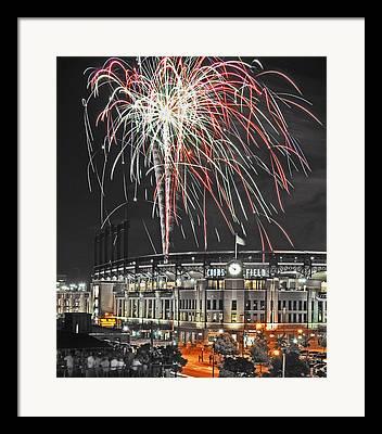 Spark Sparkle Framed Prints