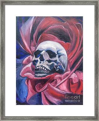 Gothic Romance Framed Print by Isabella F Abbie Shores