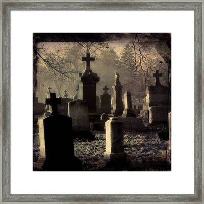 Gothic Shades Of Light Framed Print by Gothicrow Images
