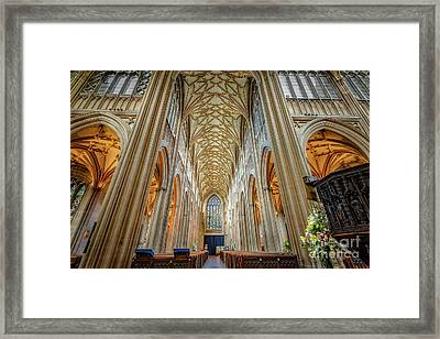 Gothic Style Framed Print by Adrian Evans