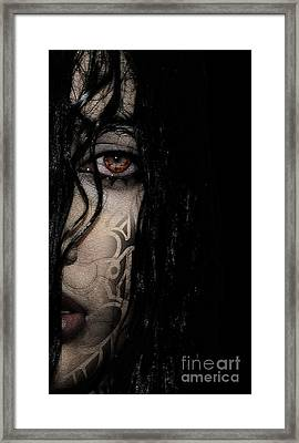 Gothic Wet  Framed Print by Prar Kulasekara