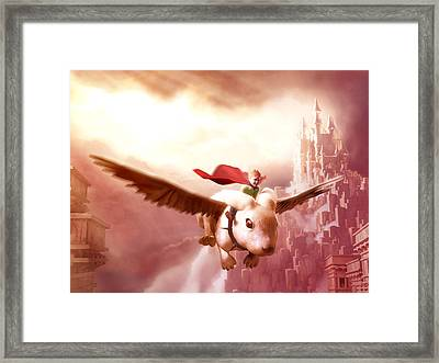 Gotta Fly Framed Print by Jamie Fox