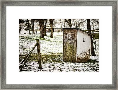 Gotta Go Framed Print by Heather Applegate