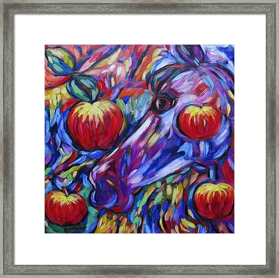 Gotta Luv Them Rosie Apples I Framed Print
