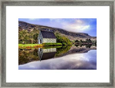 Gougane Barra Mirror Framed Print