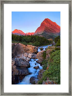 Gould And Grinnell In The Morning Framed Print