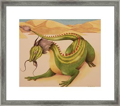 Gourd Dragon Framed Print