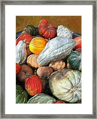 Gourd-jes Framed Print