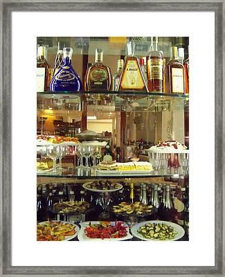 Gourmet Treats Framed Print