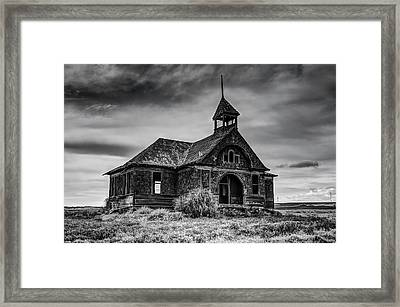 Govan Schoolhouse Framed Print by Mark Kiver