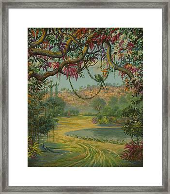 Govardhan Hill Framed Print