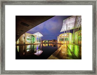 Government District, Berlin, Germany Framed Print by Nico Trinkhaus