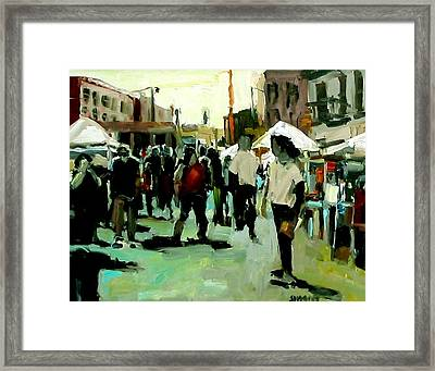 Government Street Framed Print by Brian Simons
