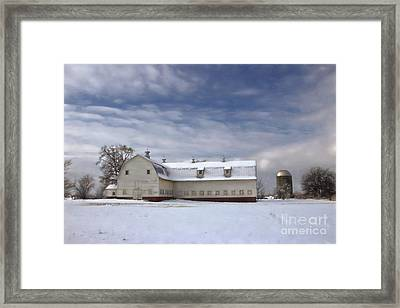 Governor Kerr Scott Farm Framed Print by Benanne Stiens