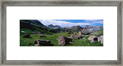 Governors Basin Rocky Mountains Co Framed Print by Panoramic Images