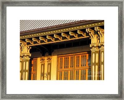 Governors Island Terminal Framed Print by Randall Weidner