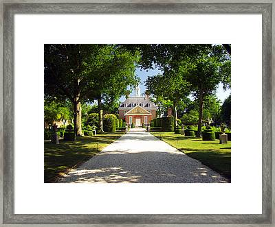 Governors Palace II Framed Print by Mark Currier