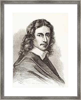 Govert  Or Govaert  Teuniszoon Flinck Framed Print by Vintage Design Pics