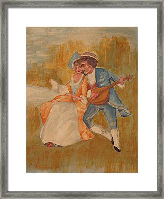Goya Framed Print by Eckland Cort