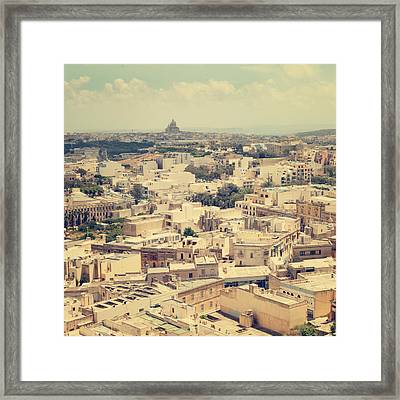Gozo Framed Print by Cambion Art