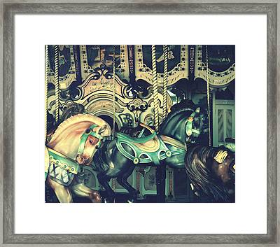 Grab The Hook Framed Print by Robin Dickinson