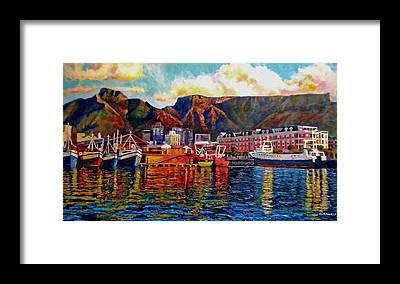 Table Mountain Framed Prints