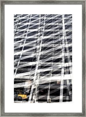 Grace Building Collage 2 Framed Print