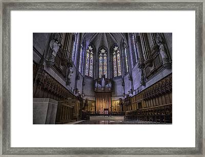 Grace Cathedral Framed Print