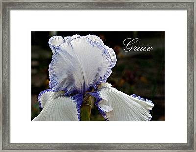 Grace Framed Print by Christopher Gaston