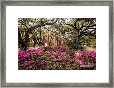 Grace Episcopal Church - St. Francisville Framed Print