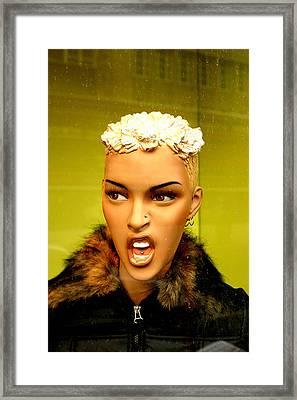 Grace Framed Print by Jez C Self