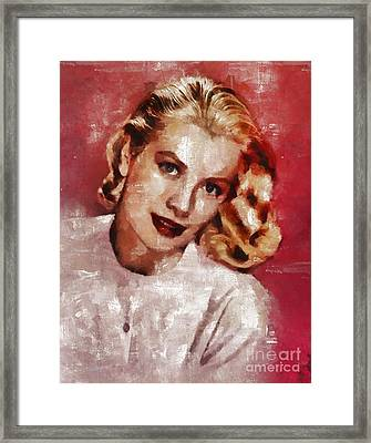 Grace Kelly, Actress And Princess Framed Print