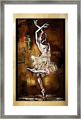 Grace Framed Print by Lynda Payton