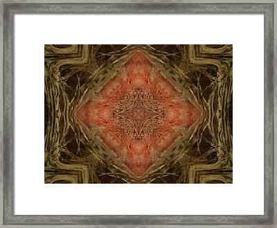 Grace Mandala Framed Print