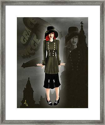 Grace Mcgeary - Death On The Empress Framed Print