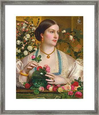 Grace Rose Framed Print