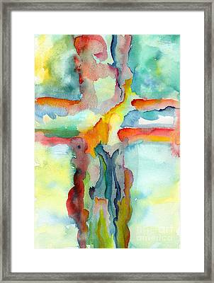 Grace Framed Print by Ruth Borges
