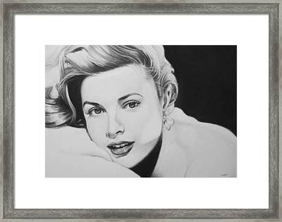 'grace' Framed Print by Steve Hunter