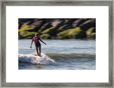 Graceful Framed Print by AM Photography