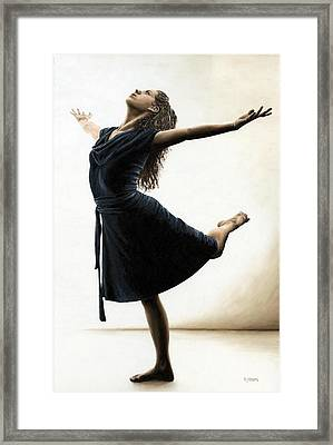 Graceful Enlightenment Framed Print by Richard Young