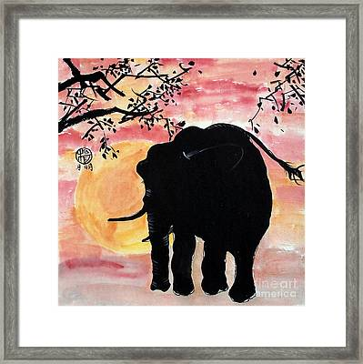 Graceful Giant Framed Print by Ming Yeung