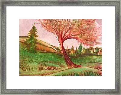 Graceful Framed Print by John Vandebrooke
