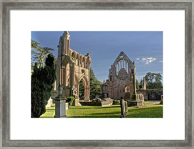Graceful Ruins. Dryburgh Abbey. Framed Print