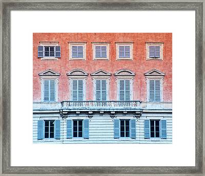 Graceful Sienna  Framed Print by Karen Regan