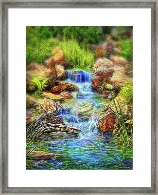 Graceful Waters Framed Print