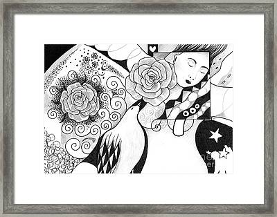 Gracefully Framed Print