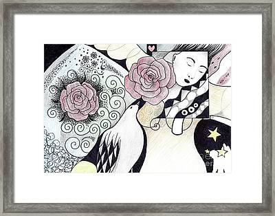 Gracefully - In Color Framed Print